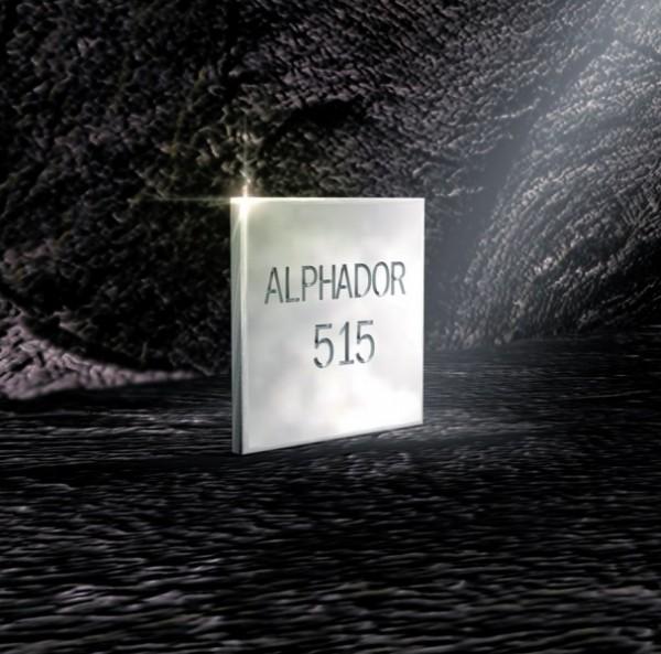 Alphador 515 goldreduzierte Aufbrennlegierung