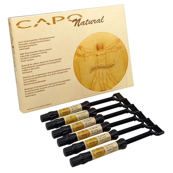 Capo Natural Set, 6 Spritzen