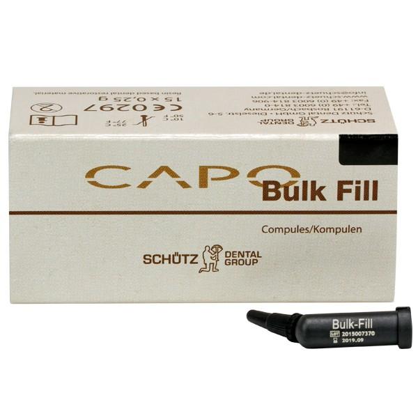 Capo Bulk Fill Kompulen Pack mit 15 Stück à 0,25g