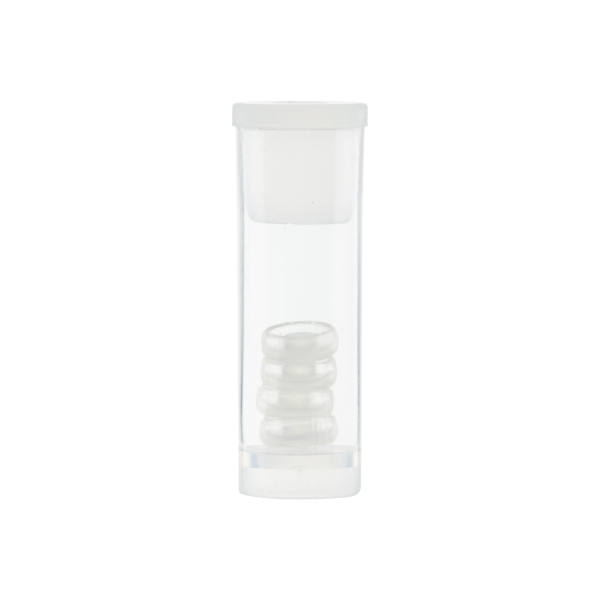 Locator®-Ersatz-Steckteil, klar, 4 Stück