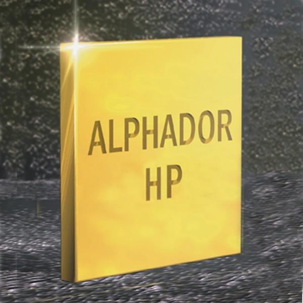 Alphador HP goldreduzierte Gusslegierung