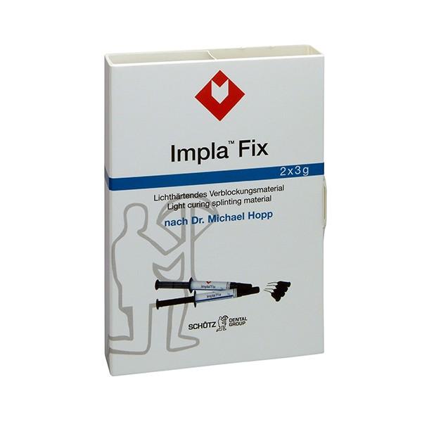 IMPLA Fix 2 x 3 g-Spritze inkl. 12 Kanülen