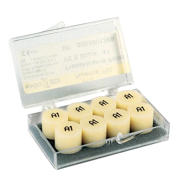 Nuance 750 Presskeramik-Pellets, 8 Stück