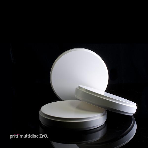 priti®multidisc ZrO2 multicolor High Translucent, 98 mm