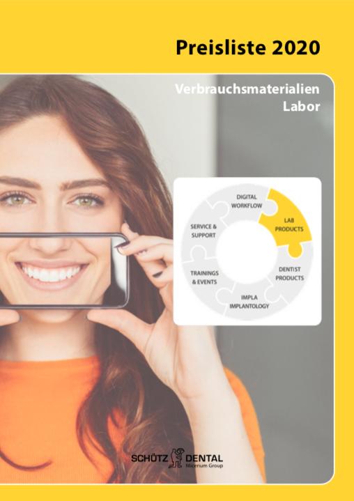Preisübersicht Labor 2020 (Deutsch)