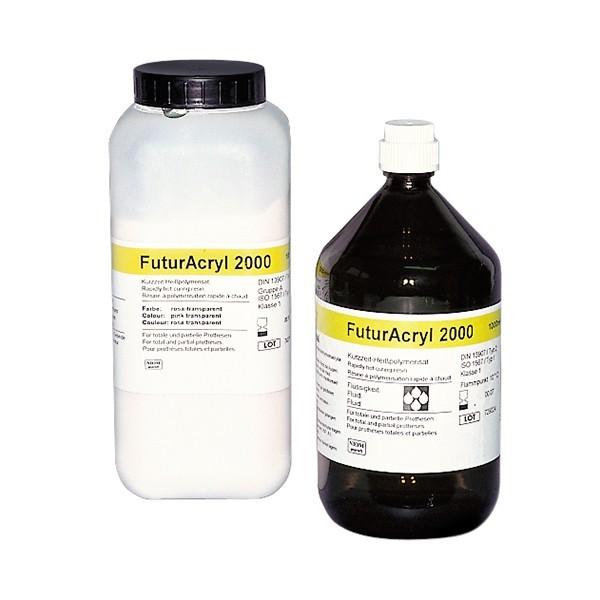FuturAcryl 2000 Pulver + Flüssigkeit