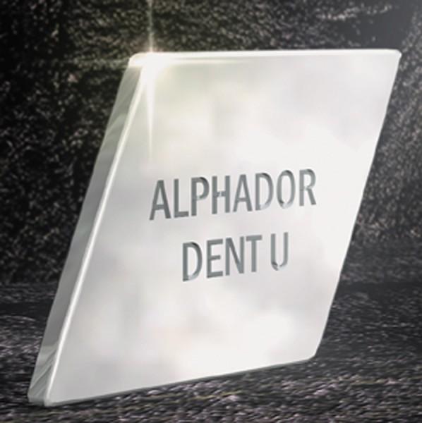 Alphador dent U extraharte Aufbrennlegierung