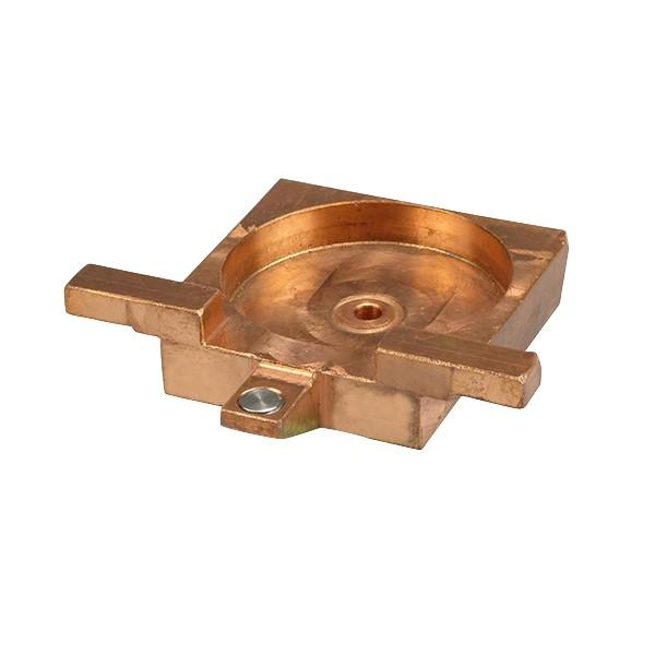Kupfer-Tiegelrahmen für Schamott Tiegel DOR-A-MATIC