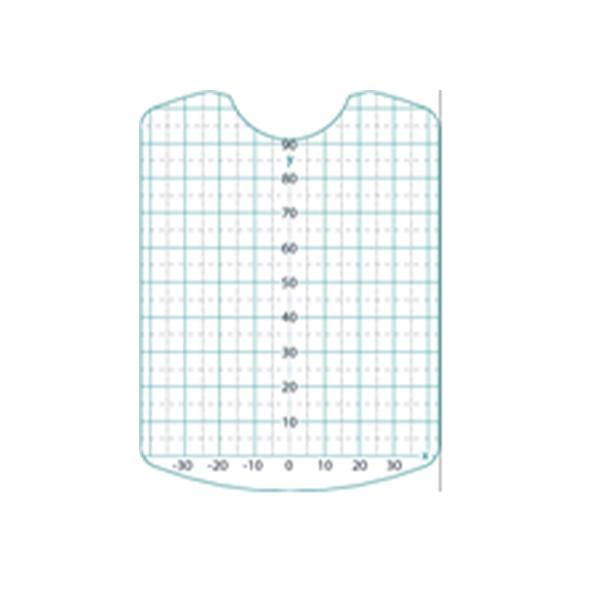 Zebris Positionierungsfolie, 5 Stück für Zebris Modellpositionierer