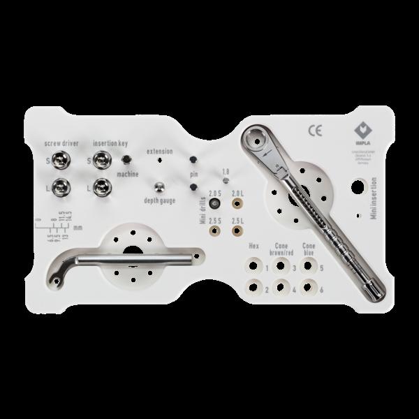 Modul Werkzeug Implantologie bestückt, Größe M