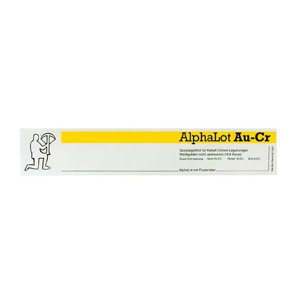 Alphalot Au-Cr