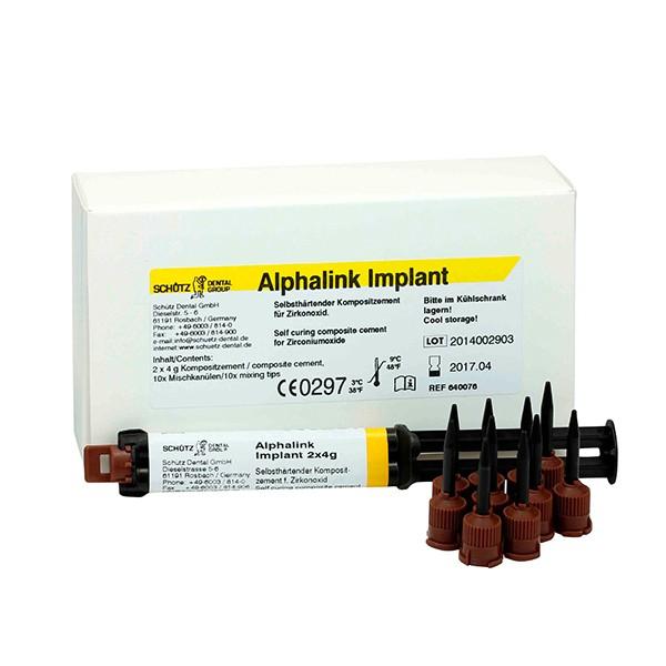 Alphalink Implant, 2 x 4 g - Spritze inkl. 10 Mischkanülen