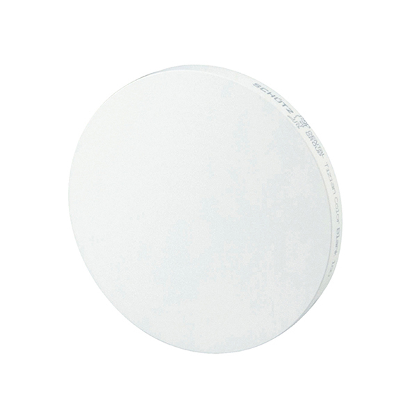 Tizian Blank Color 98 mm, Voreingefärbtes Zirkondioxid