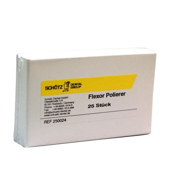 Flexor Polierer, 25 Stück