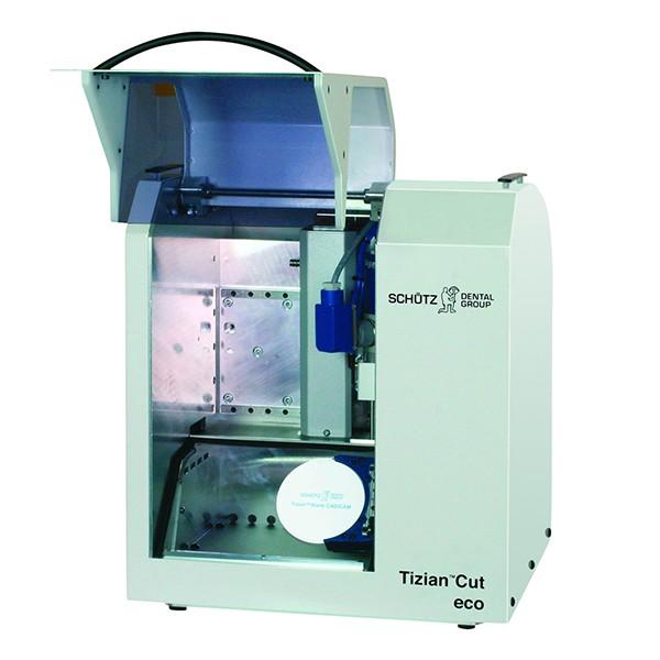 Tizian Cut eco plus Fräsmaschine mit autom. Werkzeugwechsler