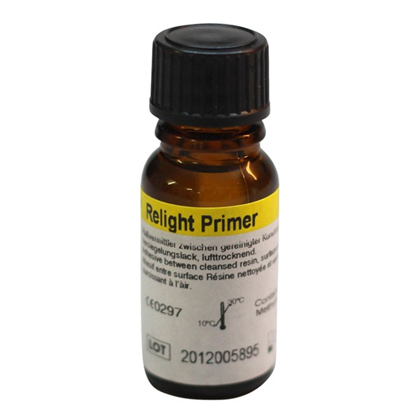 Relight adhesive agent