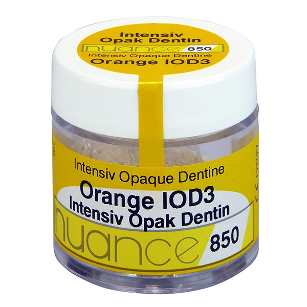Nuance 850 (IOD3) Intensiv-Opak-Dentin Opaker Orange IOD3, 10 g