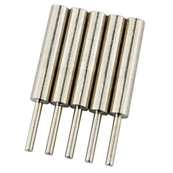 Brenngut-Trägerpins, 5 Stück