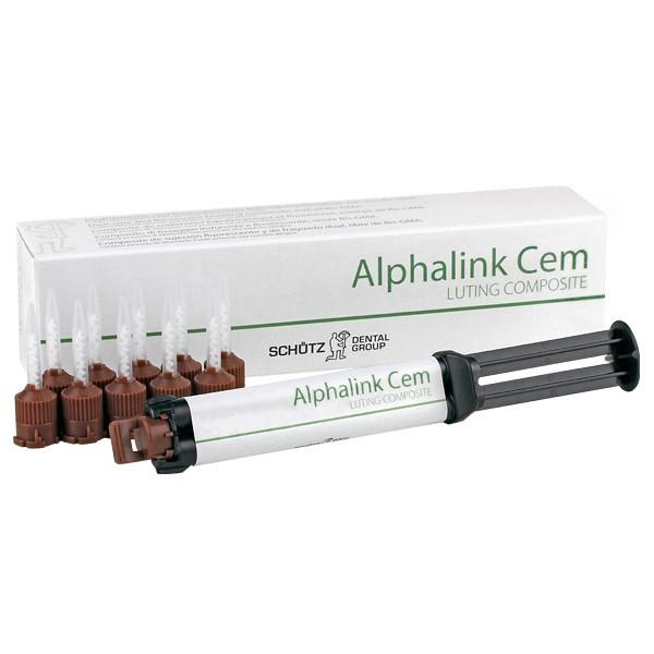 Alphalink Cem 2 x 4g Kartusche inkl. 10 Mischkanülen