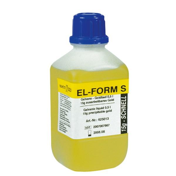 EL-Form S Goldbad, 500 ml