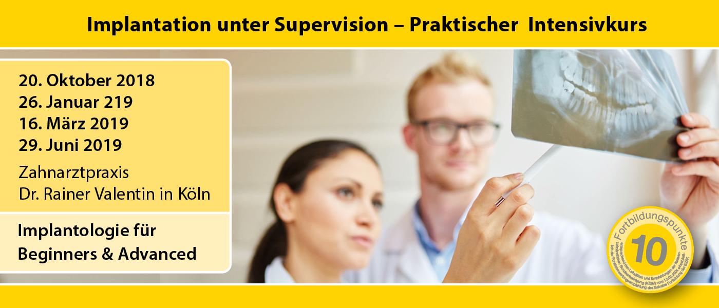 IMPLA Praktischer Intensivkurs – Implantologie für Beginners & Advanced  | Kurs: IMPLA
