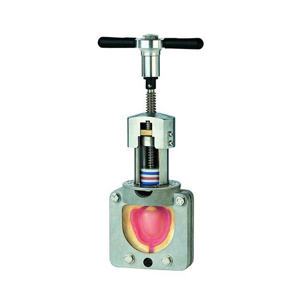 Unipress Kunststoff-Injektions-System mit V2A und Teflon-Kolben