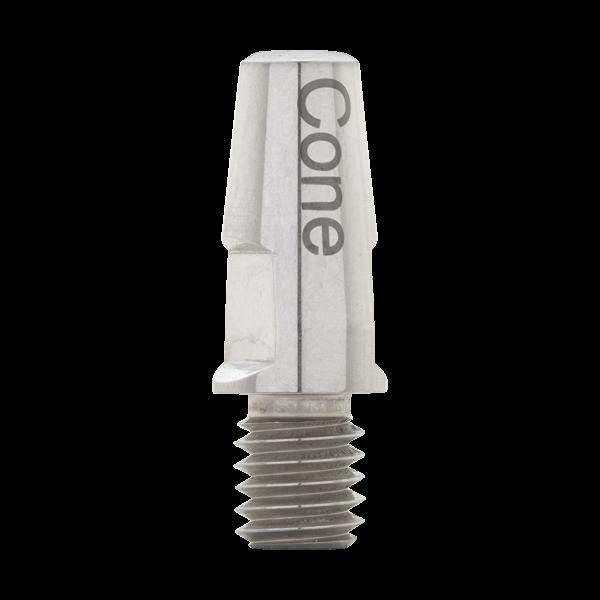 Pin Cone Connection für Abutment Halter