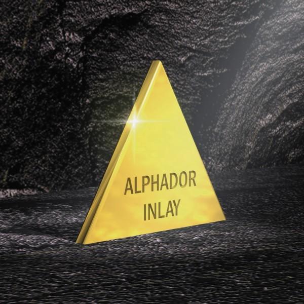 Alphador Inlay, hochgoldhaltige Inlaylegierung