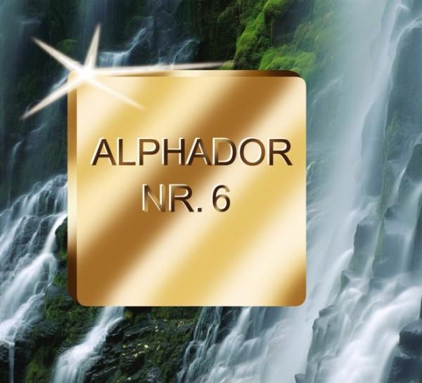 Alphador Nr. 6 Natural Aufbrennlegierung